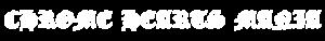 クロムハーツ ロゴ