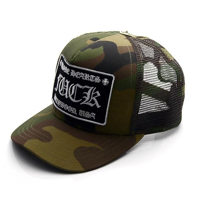 クロムハーツ トラッカー キャップ ファックパッチ カモフラージュ Chrome Hearts 帽子