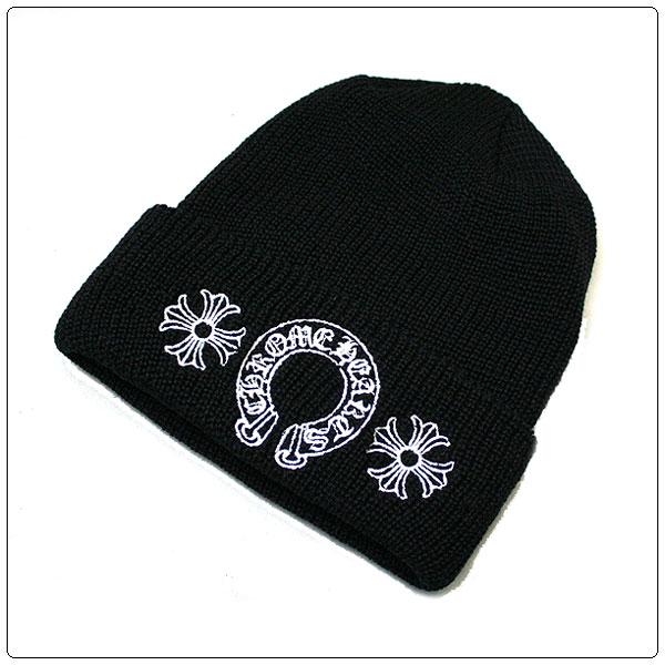 クロムハーツ ニット帽ホースシュー