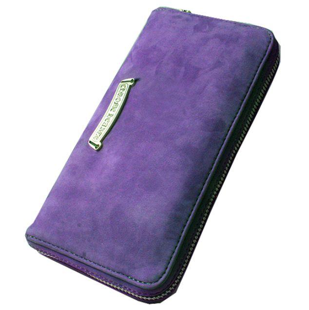 クロムハーツ ヌバックレザー 財布