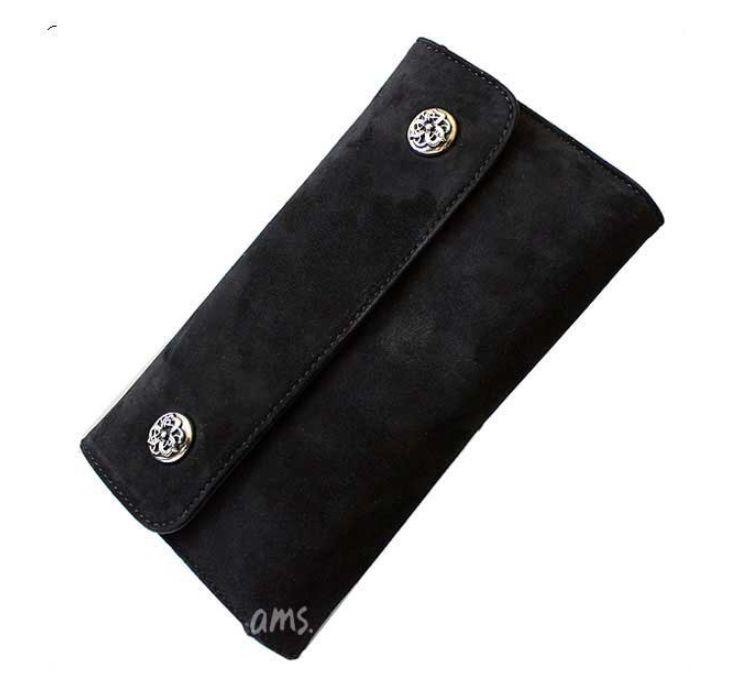 クロムハーツ スウェード 財布