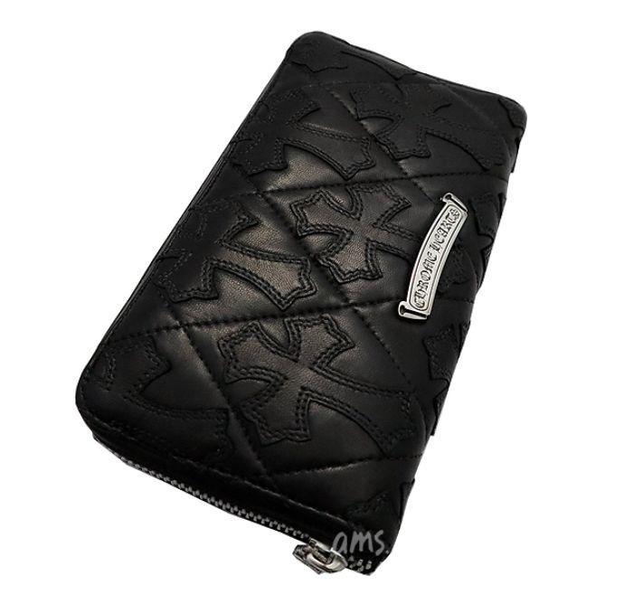 クロムハーツ キルティングレザー 財布