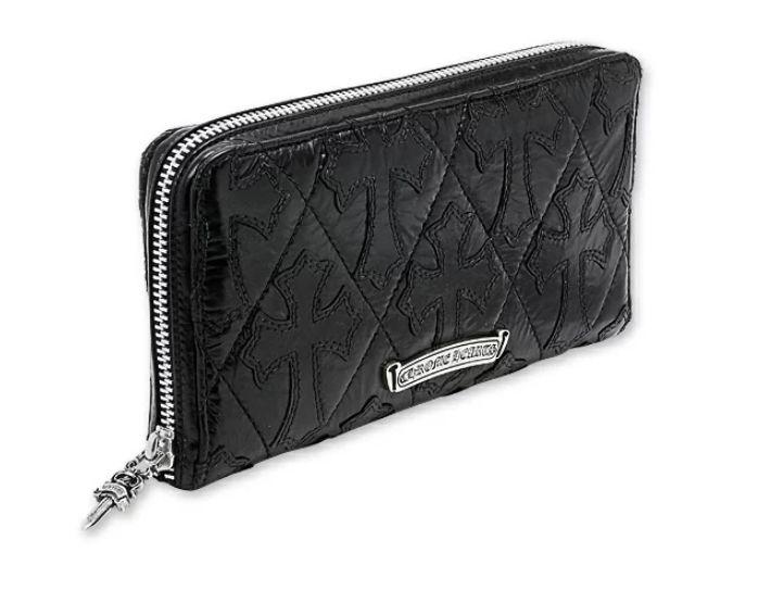 クロムハーツ パテントレザー 財布